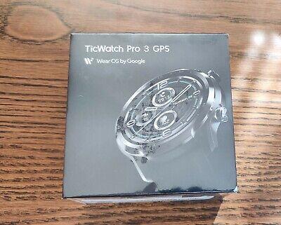 Mobvoi TicWatch Pro 3 GPS Wear OS Watch 47mm Stainless Steel Case