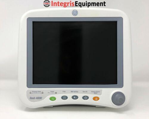 GE Dash 4000 - ECG, SpO2, NiBP, Temp, Printer - Certified