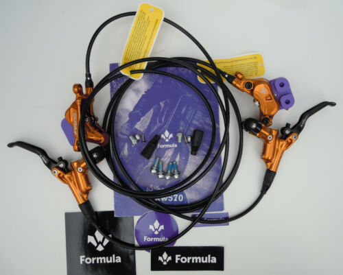 Formula - Brake set CURA 4/CURA4 2020 Gold ready to use front+rear FD94175-4G