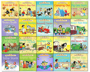Usborne-Farmyard-Tales-Story-Collection-20-Books-Set-Pack-Classic-School-Reading