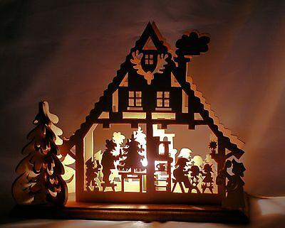 Wunder schöne * Holzkunst * Weihnachten * Laubsägearbeitent.