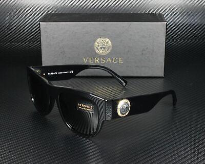 VERSACE VE4359 GB1 87 Black Grey 55 mm Men's Sunglasses