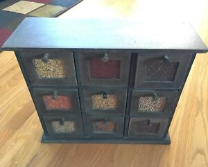 spice rack, 9 drawers