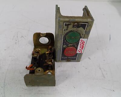 Allen Bradley Startstop Push Button Station 800-2sa Series L