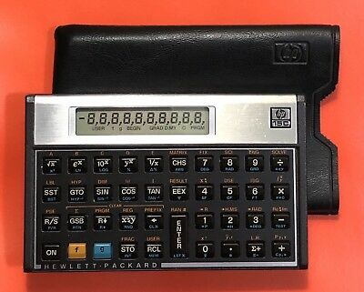 Used, HP-15C SCIENTIFIC CALCULATOR w/ CASE