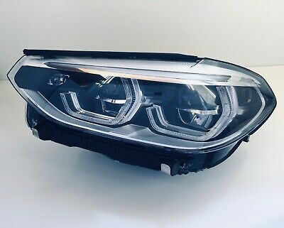 2018 2019 BMW X3 LEFT SIDE ADAPTIVE LED HEADLIGHT 8496827-01  OEM