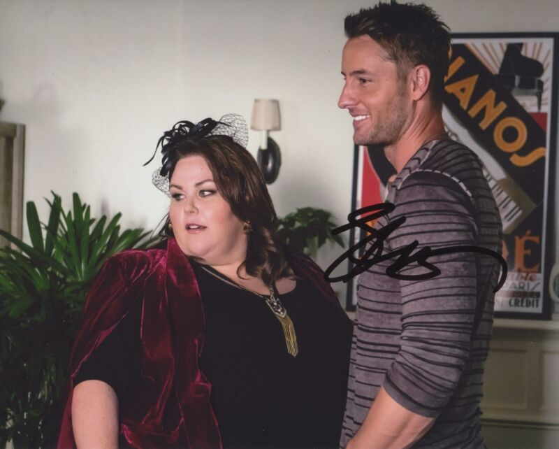 JUSTIN HARTLEY SIGNED THIS IS US 8X10 PHOTO