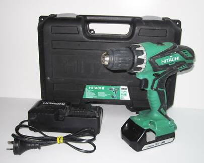 HITACHI DS18DJL 18V CORDLESS DRIVER DRILL #646096 Ipswich Ipswich City Preview