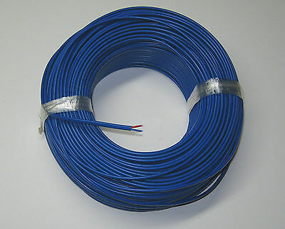 T-type Thermocouple Wire Awg 24 Solid Wire W. Pvc Insulation Extension 1 Yard