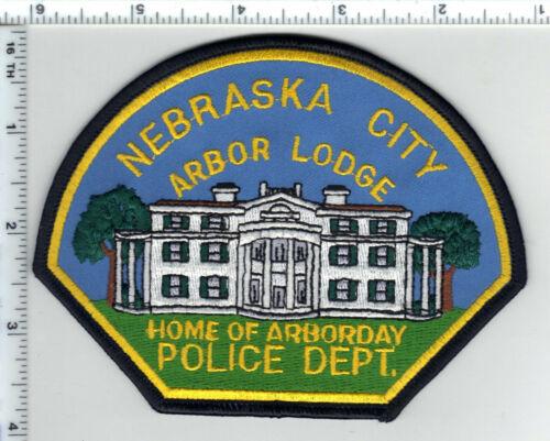 Nebraska City Police (Nebraska) 3rd Issue Shoulder Patch