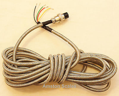 Home Run Scale Load Cell Cable Steel Shield 19 Feet Indicator Junction Wire Cord
