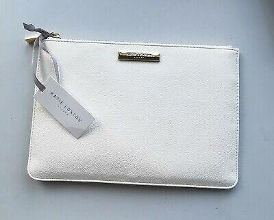 Katie Loxton White Perfect Pouch Clutch Bag Handbag BNWT