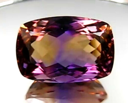 26.69 CT UNHEATED VIVID PURPLE & YELLOW COLOR AMETRINE GEMS