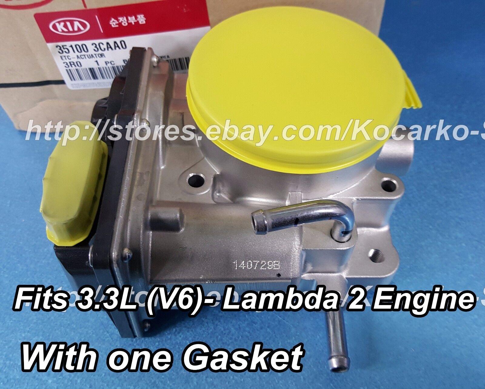 OEM Throttle Body For Kia Amanti 3.8L 2007-2009 Hyundai Santa Fe 3.3L 2007-2009