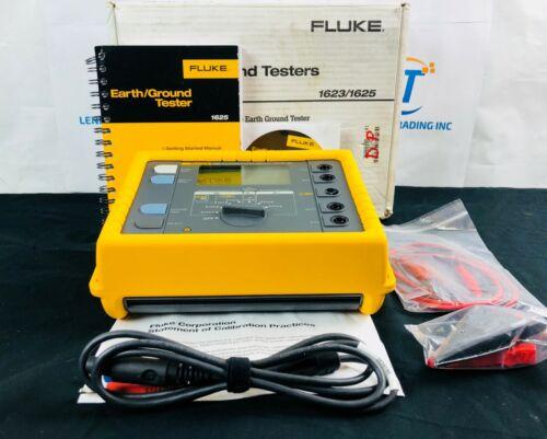 Fluke 1625 Advanced Earth Ground Tester GEO Kit 1625Kit *NEW* - Free Shipping