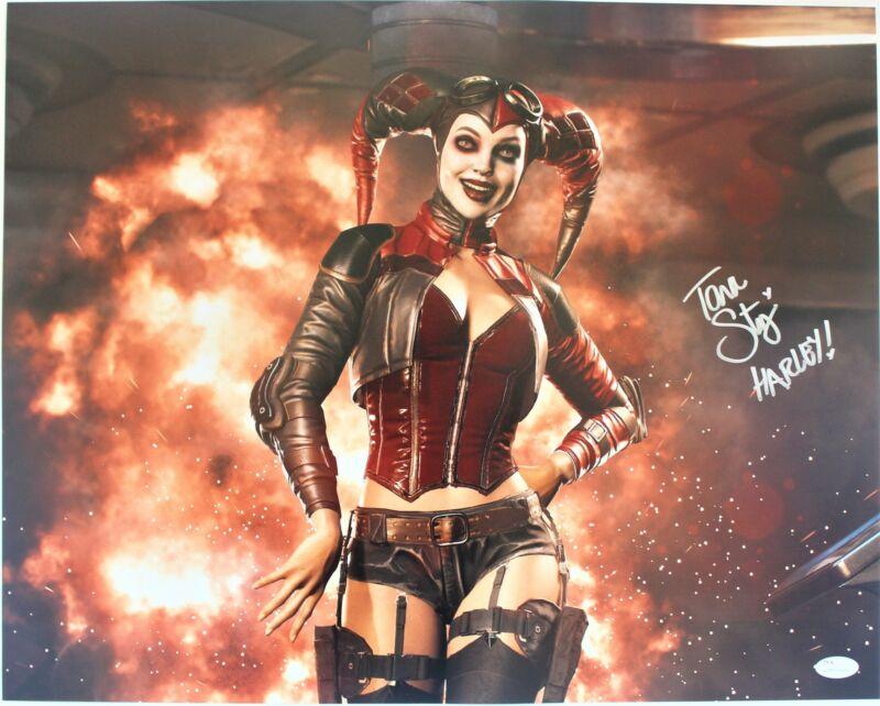 Tara Strong Autograph 16x20 Photo Batman Harley Quinn Signed JSA COA Z4