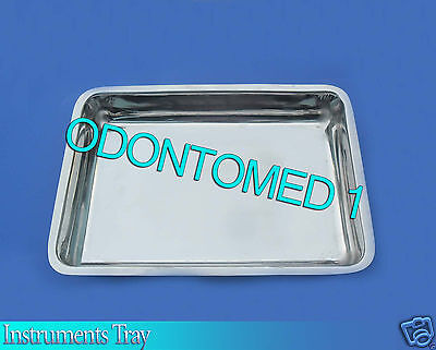 Instrument Tray 12.5x7x2 Surgical Dental Veterinar