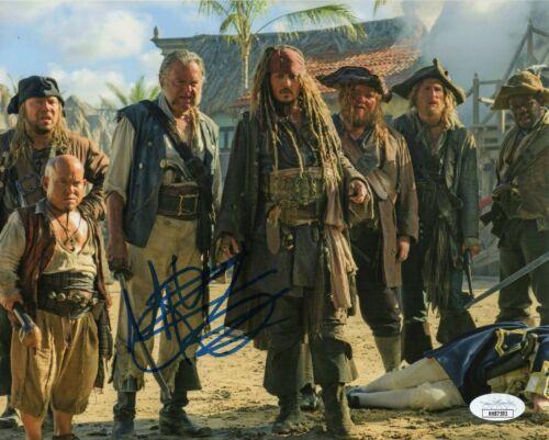 Martin Klebba Autograph Signed 8x10 Photo - Pirates of the Caribbean (JSA COA)
