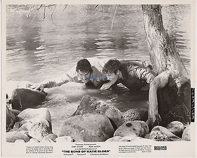 Sons Of Katie Elder Dean Martin Michael Anderson Jr 1968 Reissue 8X10