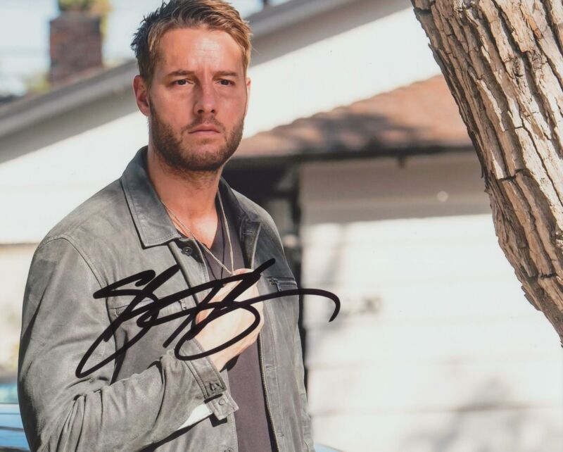 JUSTIN HARTLEY SIGNED THIS IS US 8X10 PHOTO 2
