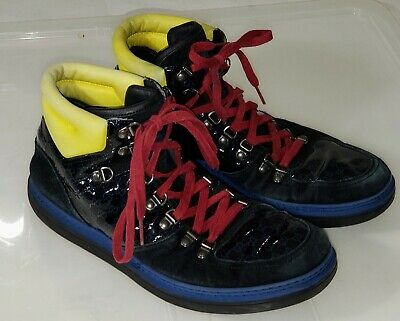 Gucci Limited Edition High Top Sneaker Shoes Size 8
