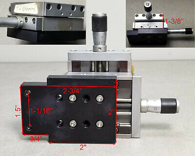 Xy Newport Klinger Micro-controle Micrometer Linear Translation Stage Tables