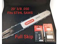 Stihl SWS Schwert Führungsschiene 40cm 3//8 1,6mm 60TG p.f