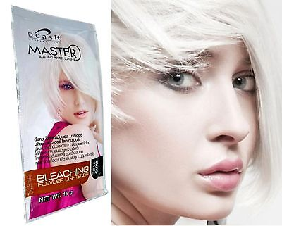 Hair Lightening Kit - Hair Bleaching Bleach Dye Color Lightening Cosplay Emo Goth Kit IONIC SNOW WHITE