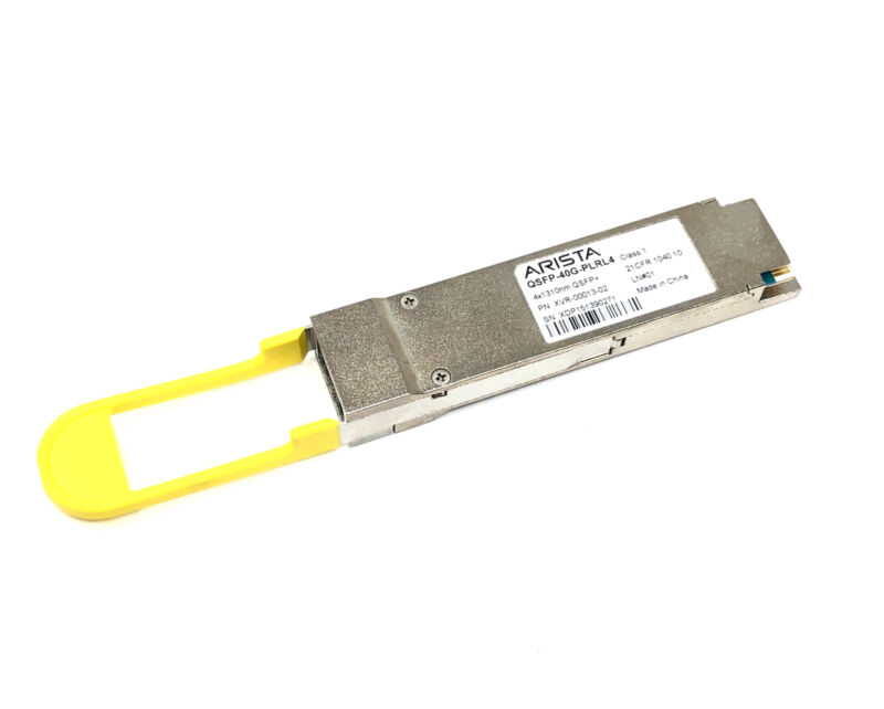 Xvr-00013-02 Arista Qsfp-40g-plrl4 40gbase-plrl4 1310nm Qsfp+ 1km Transceiver