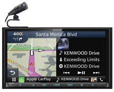 """Kenwood DNX874S 6.95"""" Navigation GPS DVD Bluetooth Receiver Car Play/USB/Android"""