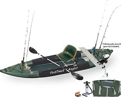 Angler Fishing Kayak Package - SEA EAGLE 385FTA ANGLER SERIES PRO MOTOR FISHING RIG PACKAGE
