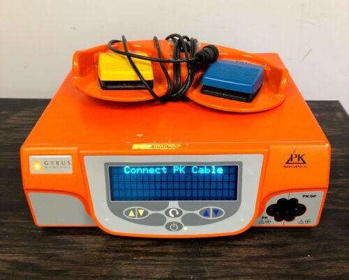 Gyrus ACMI PK SuperPulse Generator 744000 Super Pulse Version 3.02 w/ Foot Pedal