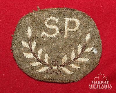 WW2 British / Canadian Special Proficiency Cloth Trade Badge (13466)