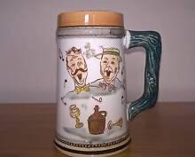 Vintage Beer Stein Singing Men –  Japan Golden Grove Tea Tree Gully Area Preview