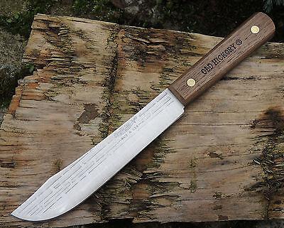Old Hickory Messer BUTCHER KNIFE 2nd Küchenmesser Kohlenstoffstahl Hickoryholz