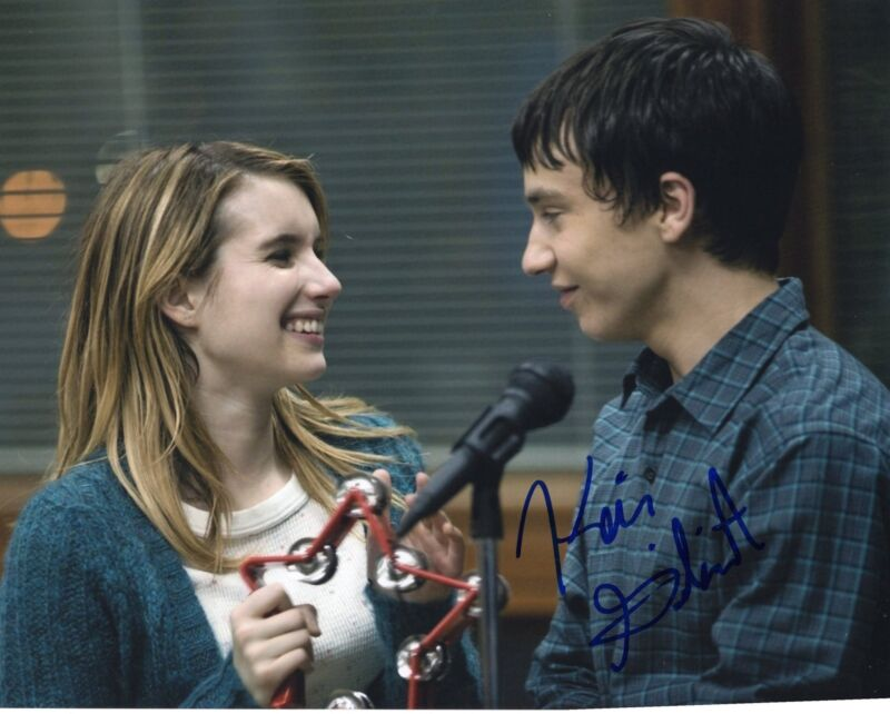 Keir Gilchrist It's Kind of a Funny Story Signed 8x10 Photo w/COA #3
