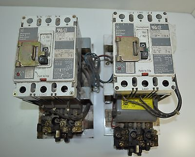Furnas Westinghouse Open Panel Size 1 Motor Starter Lot Of 2 Model 90l302140a