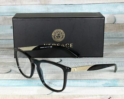 VERSACE VE3252 GB1 Black Demo Lens 54 mm Men's Eyeglasses
