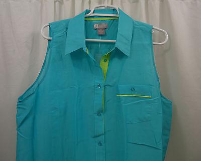 Womens Jcp Sleeveless  Shirt  2X