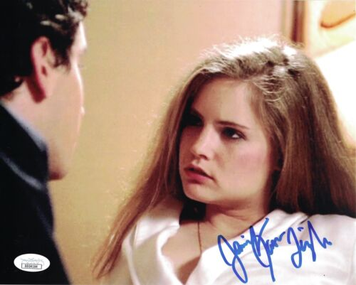 JENNIFER JASON LEIGH Signed Fast Times at Ridgemont High 8x10 Autograph JSA COA