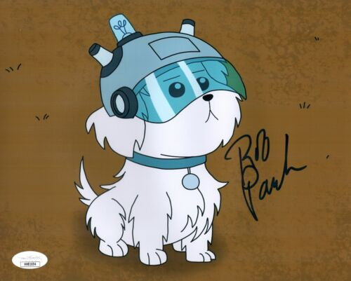 ROB PAULSEN Rick And Morty SNOWBALL Signed 8x10 Photo Autograph JSA COA Cert