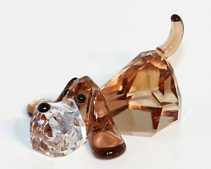 swarovski figuren hund dekofiguren ebay. Black Bedroom Furniture Sets. Home Design Ideas