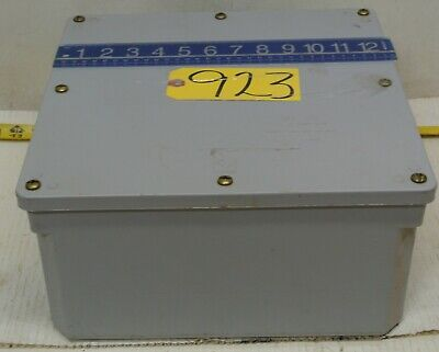 Stahlin Electrical Weatherproof Enclosure Junction Box 12 X 12 X 7 Free Ship