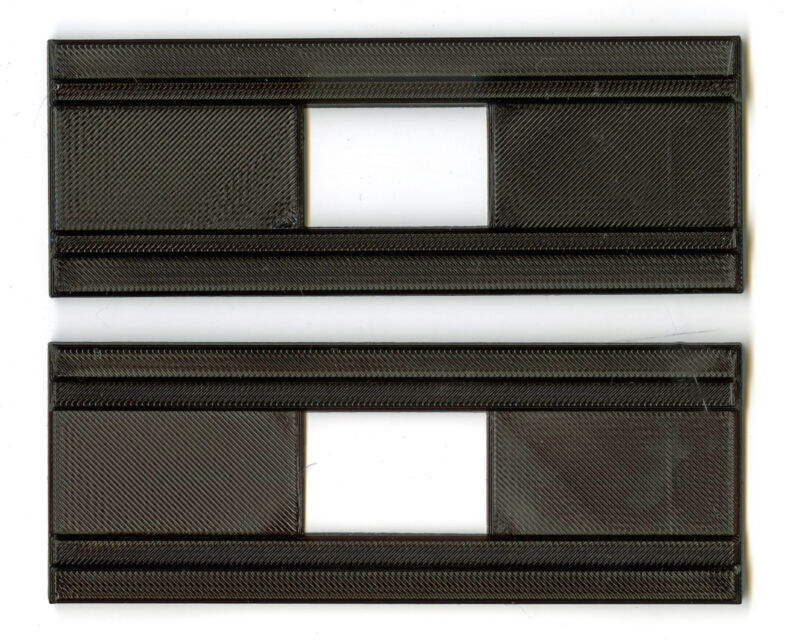 35 mm film holder/adapter made for Polaroid/Bowers HD Slide Duplicator