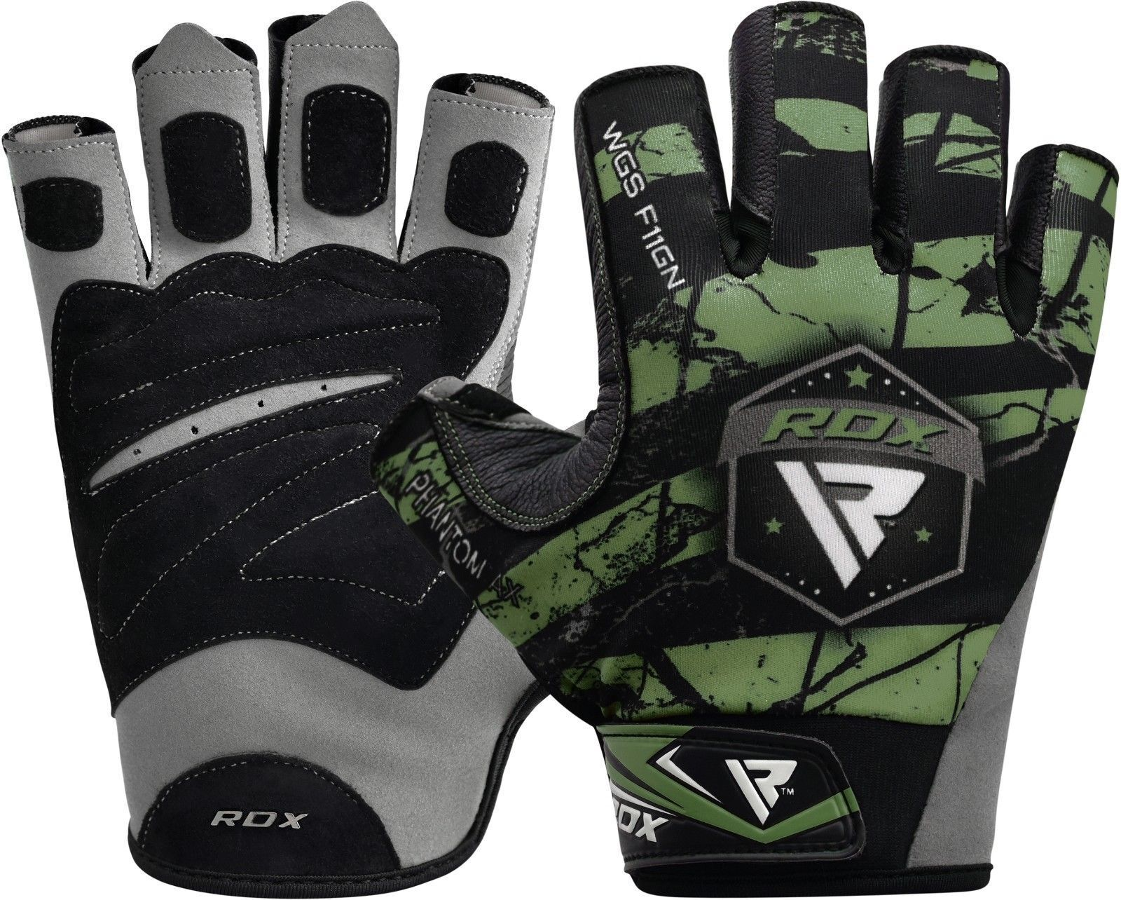 RDX Weight Lifting Gloves Gym Training Bodybuilding Yoga Fit