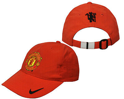 Nike Manchester United Hat Kids Chidrens Unisex Cap Orange 237959 605 A14