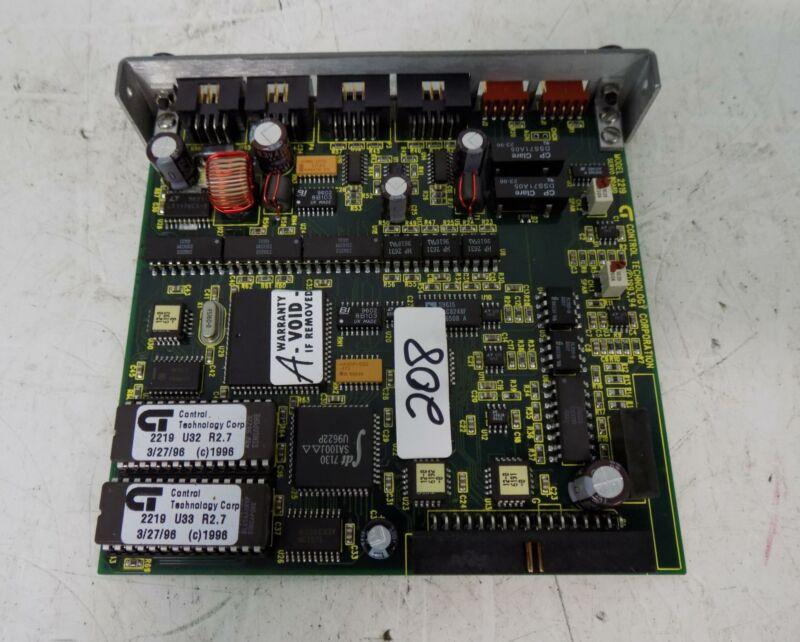CONTROL TECHNOLOGY SERVO CONTROL MODULE 2219-2