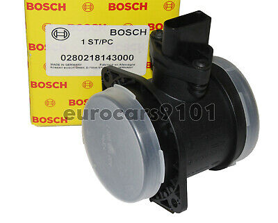 New! Audi S6 Bosch Mass Air Flow Sensor 0280218143 07C906461A