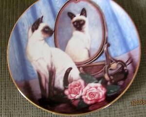 Brand New Franklin Mint  Heirloom, -Collectable Cat Plates Dapto Wollongong Area Preview