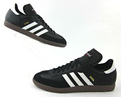 977a04325 Adidas Samba Classic Indoor Soccer Shoes Black / White US 11.5